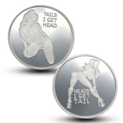 Adult Themed Flipping Coins