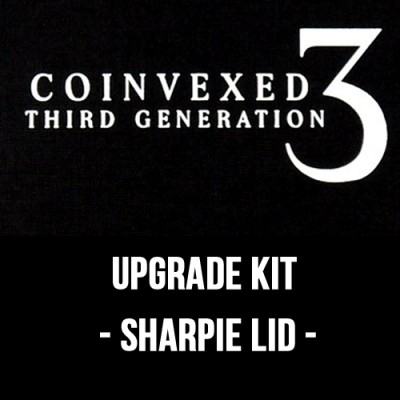 Coinvexed 3rd Generation Upgrade Kit - Sharpie Lid