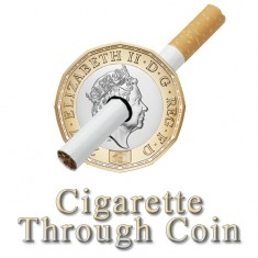 Cigarette Through Coin - £1