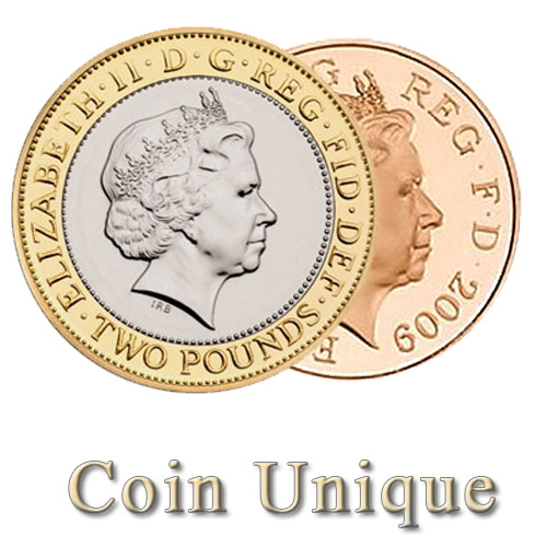 Coin Unique - £2/2p