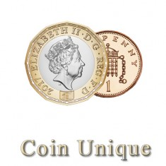 Coin Unique - £1/1p