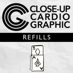 Refill Close-up Cardiographic by Martin Lewis