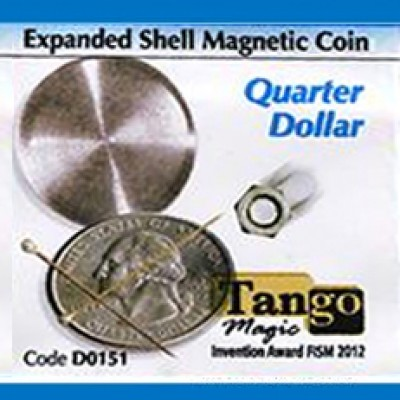 Expanded Shell Magnetic - Quarter - Tango (D0151)