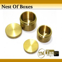 Nest Of Boxes Brass - Tango