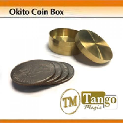 Okito Coin Box Brass - Dollar - Tango