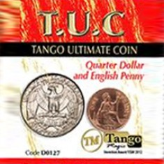T.U.C Tango Ultimate Coin - Quarter and Penny