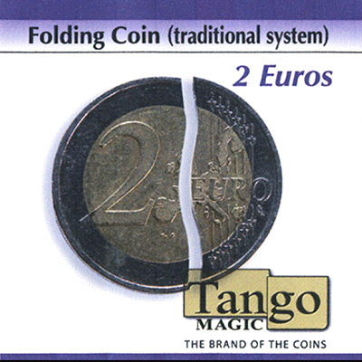 Folding Coin Traditional - 2 Euros - Tango