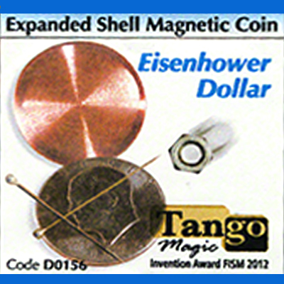 Expanded Shell Magnetic - Eisenhower Dollar - Tango