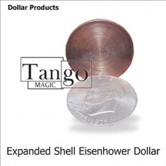Expanded Shell - Eisenhower Dollar by Tango