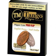 Flipper coin Pro Flip - English Penny/Half Dollar - Tango