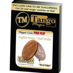 Flipper coin Pro Flip - English Penny/Half Dollar - Tango