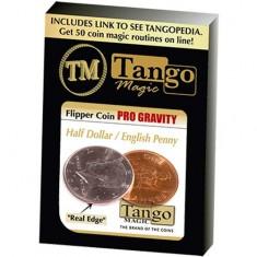 Flipper coin Pro Gravity - English Penny/Half Dollar - Tango