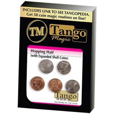 Hopping Half with Expanded Shell Coins & English Penny - Tango