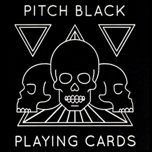 Pitch Black Playing Cards - Cartamundi