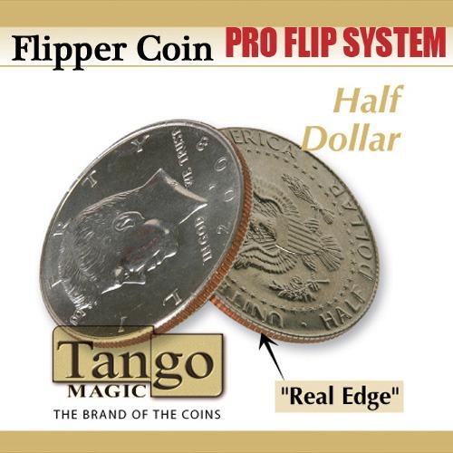 Flipper Coin Pro Elastic System - Half Dollar - Tango