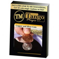 Copper Silver Coin - Half Dollar/English Penny by Tango (D0060)