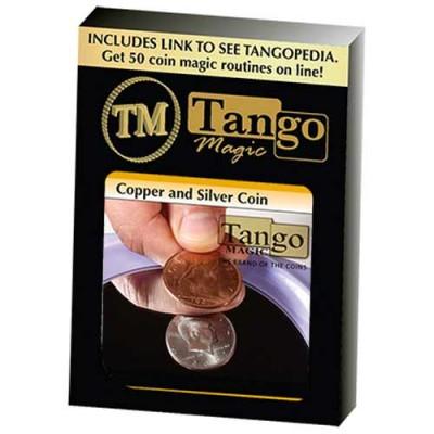 Copper Silver Coin - Half Dollar/English Penny - Tango