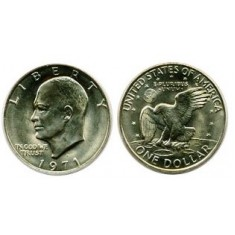 Dollar Coin - Eisenhower 'Ike'