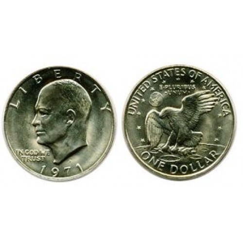 Dollar Coin - Eisenhower 'Ike'