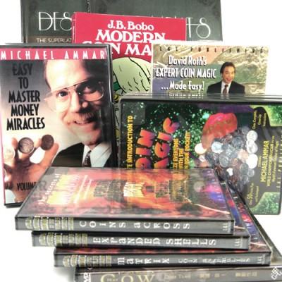 Coin Magic DVD's & Books