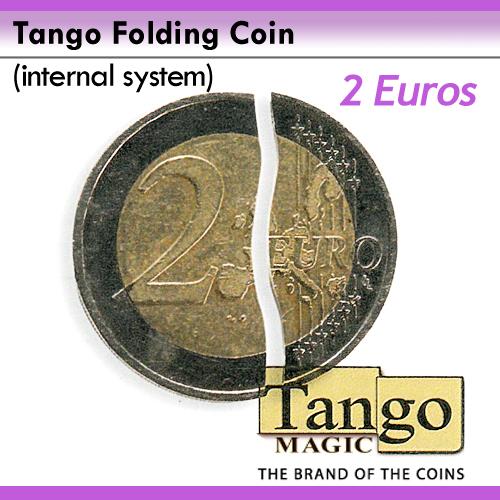 Folding Coin Internal - 2 Euro - Tango (E0039)