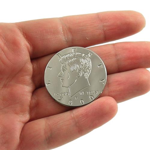 us half dollar coin size