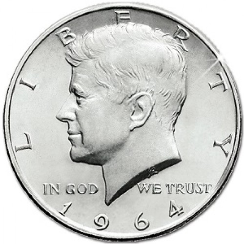 Kennedy Half Dollar Coin