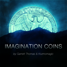 Imagination Coins by Garrett Thomas - UK 10p Gimmick