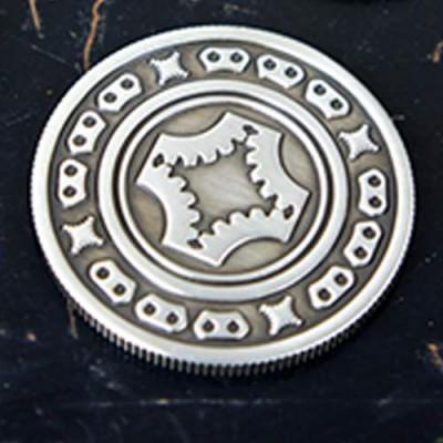 Dollar Coin (Gun Metal Grey) by Mechanic Industries