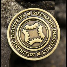 Half Dollar Coin (Bronze) by Mechanic Industries