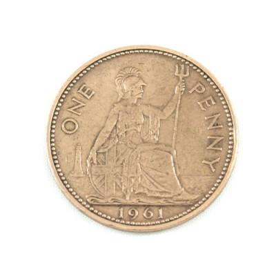Old English Penny - Polished
