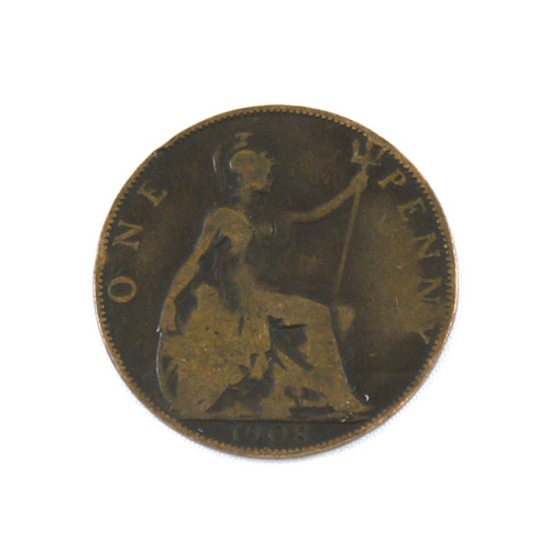 Old English Penny - Worn