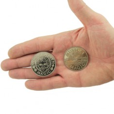 Palming Coin - Norm Nielsen Dollar Size