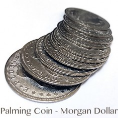Palming Coin - Morgan Dollar