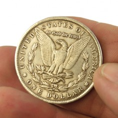 Steel Morgan Dollar Replica