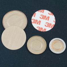 Self Adhesive Teflon Discs for Tuc Coins and Slippery Shells