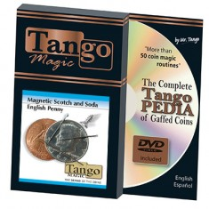 Scotch and Soda Magnetic - Half Dollar/English Penny - (D0051) Tango