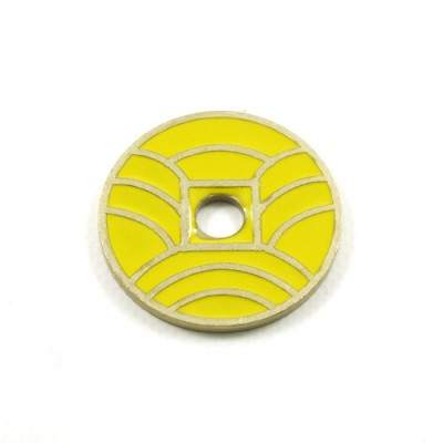 Japanese Coin Yellow  -  Ike Dollar Size