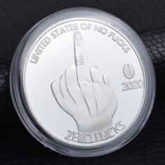 Zero F**ks Comedy Coin