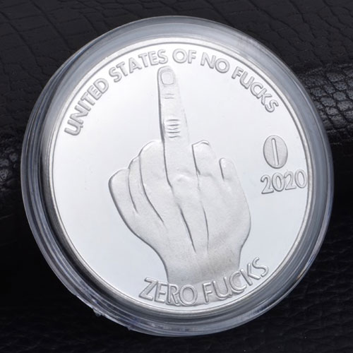 Zero F**ks Comedy Coin