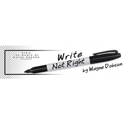 Write, Not Right by Wayne Dobson