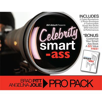 Celebrity Smart Ass (Brad Pitt & Angelina Jolie) by Bill Abbott