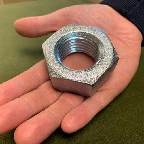 Jumbo 65mm Steel Nut