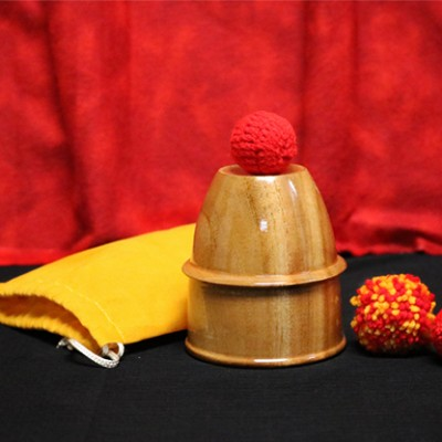 Chop Cup (Wooden) by Mr. Magic