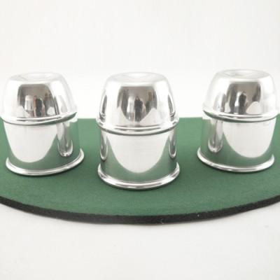 Cups & Balls by Bazar de Magia - Aluminium