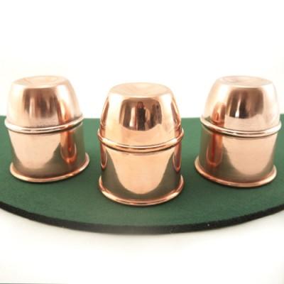 Cups & Balls by Bazar de Magia - Copper