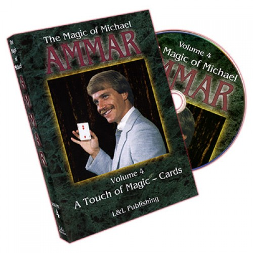 Magic of Michael Ammar #4 DVD by L&L Publishing