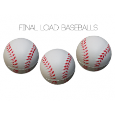 "Final Load Base Balls 2.5"" - Pack of 3"