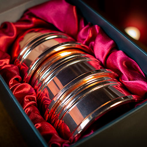 Legend Cups and Balls Polished Copper by Murphy's Magic