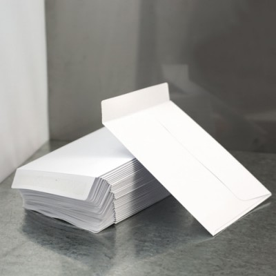 White Medium Bonsalopes  - Pack of 50